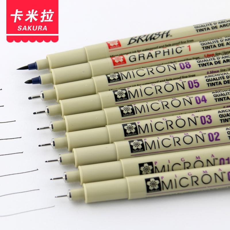 Drawn pen waterproof Gel Comics on Fine Reliable