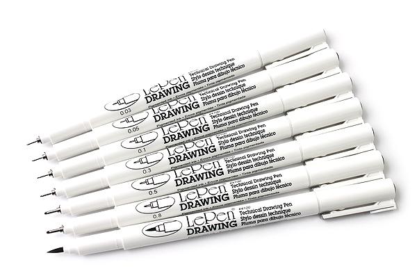 Drawn pen waterproof Technical  03 Pen Drawing
