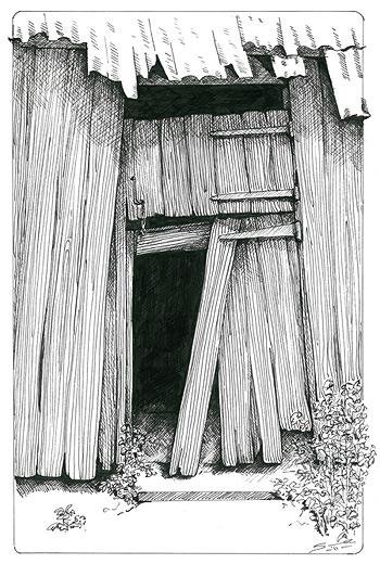 Drawn pen wood  drawings drawings and Pinterest