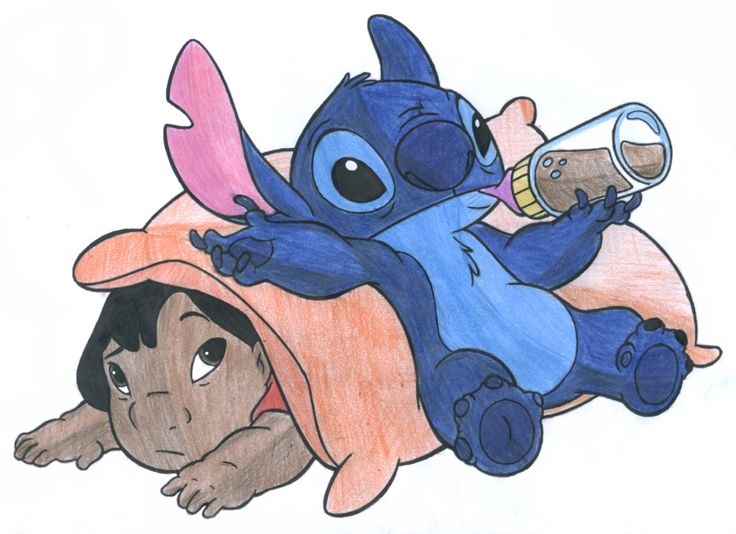 Drawn pencil lilo and stitch Pinterest Stitch Drawing Drawing images