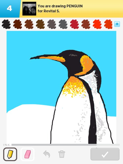 Drawn penguin draw something Draw to The in Qikdraw