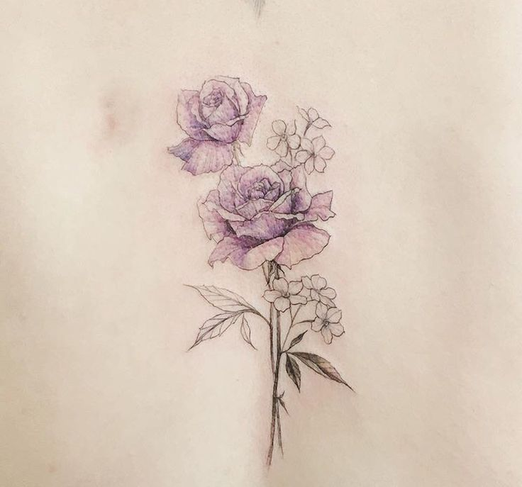 Drawn peony delicate flower  flower delicate tattoo 20+