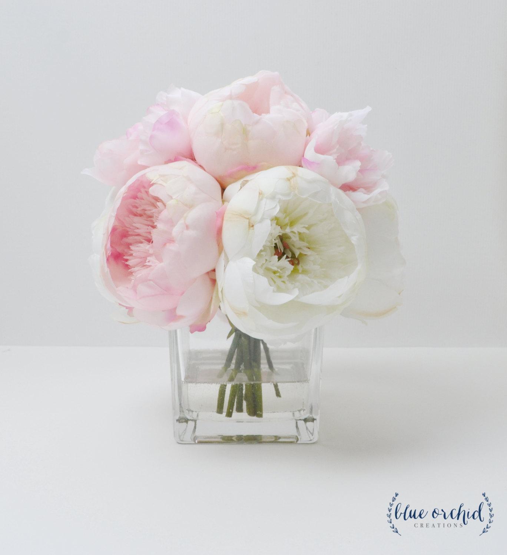 Drawn peony flower vase Arrangement Arrangement Vase Peony Arrangement