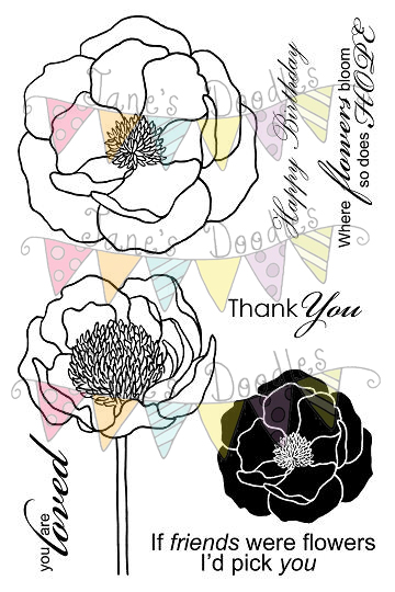 Drawn peony simple Invitations not use you This