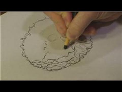 Drawn peony tutorial : Draw Drawings to Flowers
