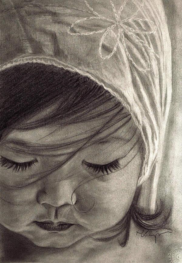 Drawn sad realistic Realistic Ultra Drawings · Portrait