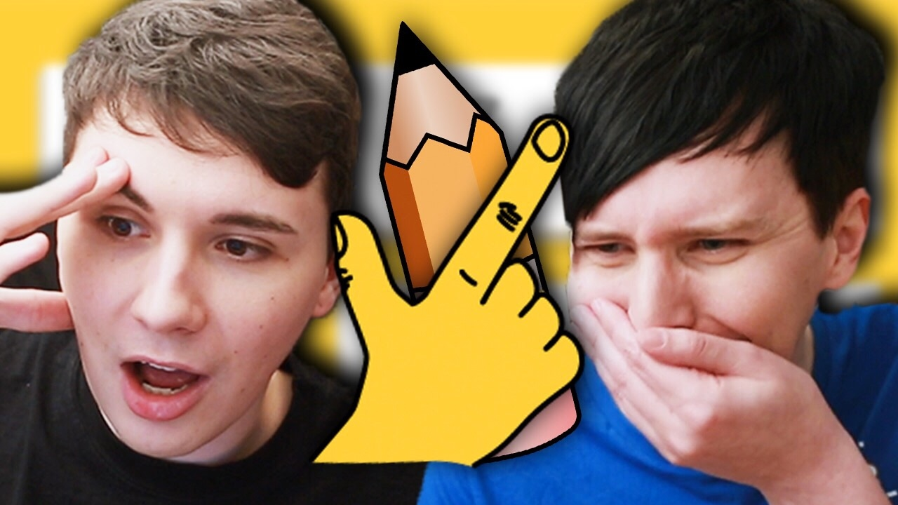 Drawn phill DRAW! YouTube vs Phil: QUICK