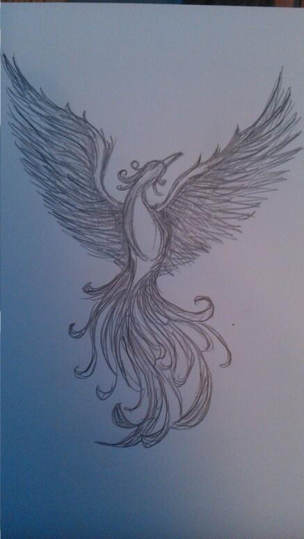 Drawn phoenix 25+ ideas my Pinterest The