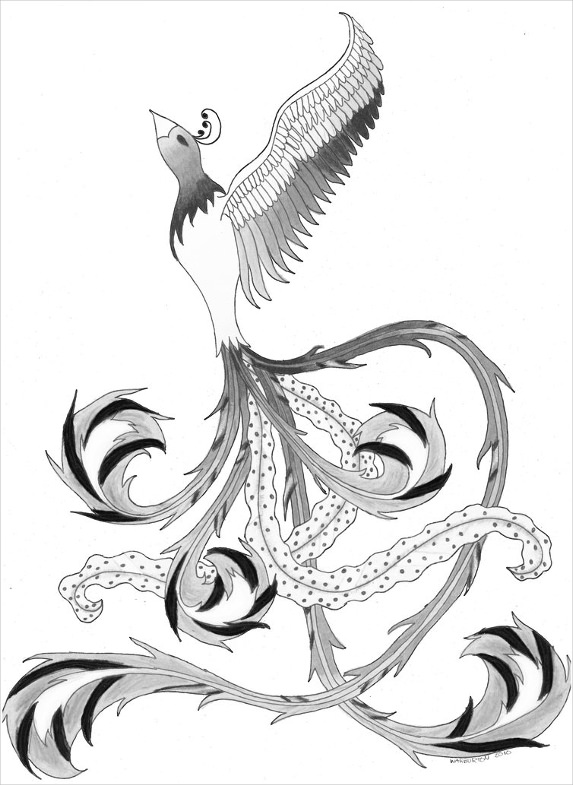 Fenix clipart coat arm Bird White & Drawings And