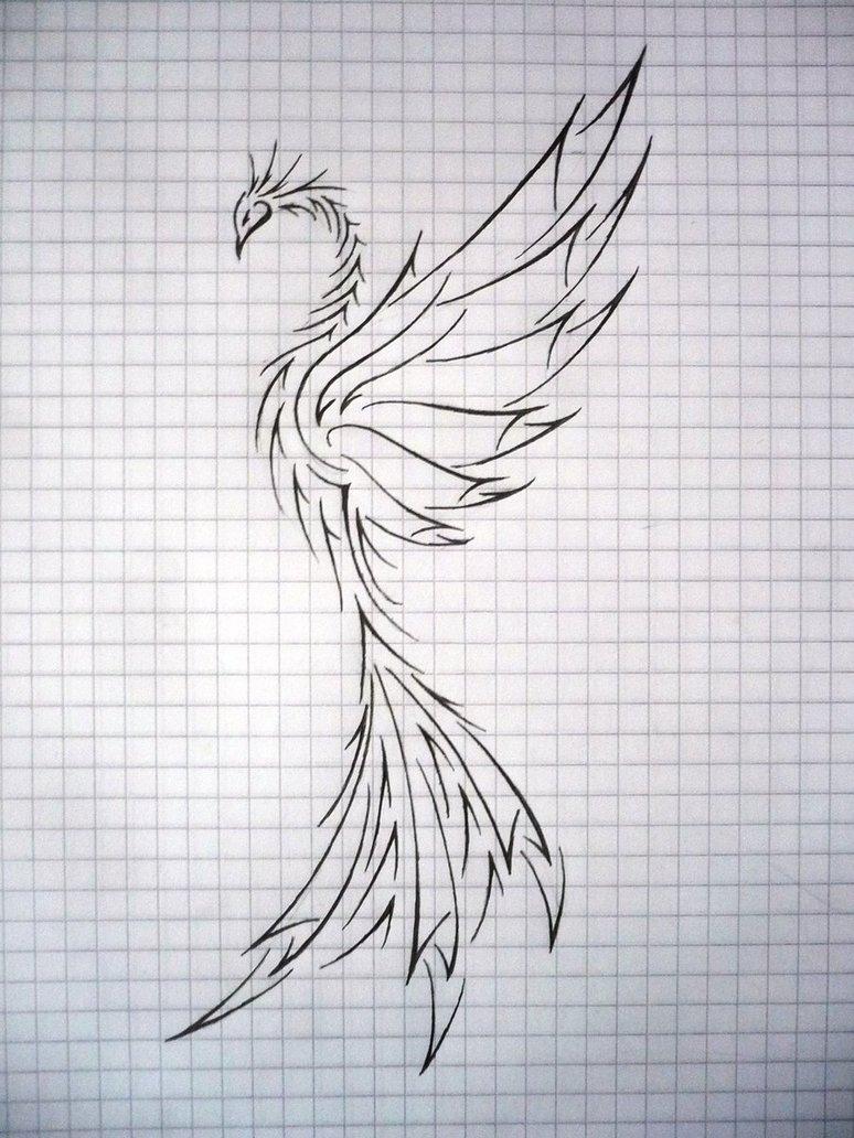 Drawn phoenix 2 frecmenta by on frecmenta
