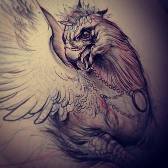 Drawn phoenix Drawn Griffin Bharath muralimamtha @Greg aradhya Webstagram