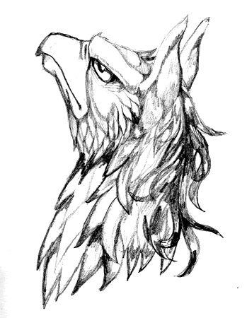 Drawn phoenix Drawn Griffin Best tattoo griffin 20+ Pinterest