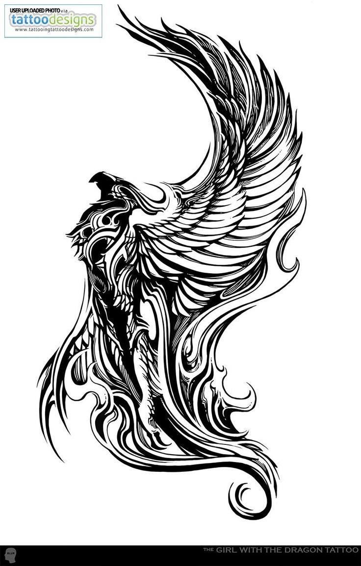 Drawn phoenix Drawn Griffin Dragon and Phoenix/Dragon/Griffin on Find