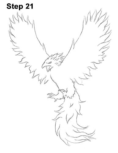 Drawn phoenix Drawn Griffin How a Draw to Phoenix