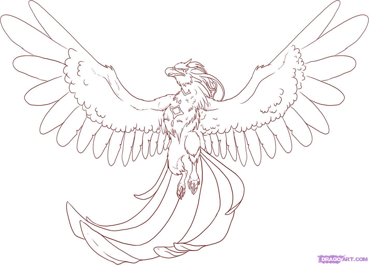Phoenix clipart cartoon By to Fantasy to Diamond