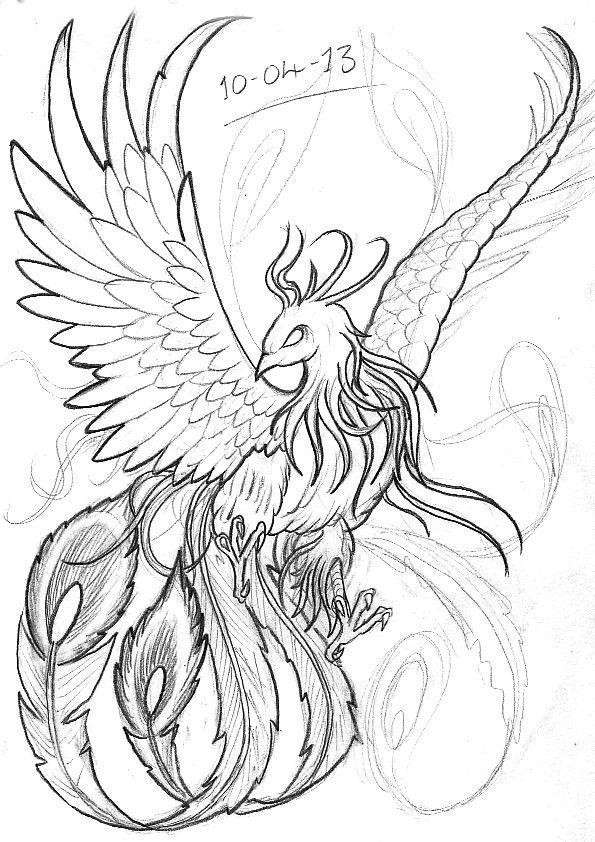 Drawn phoenix Phoenix Bird 25+ ideas Pinterest Phoenix Google