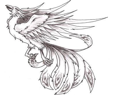 Drawn phoenix Phoenix Bird Bird stuk ha by ska