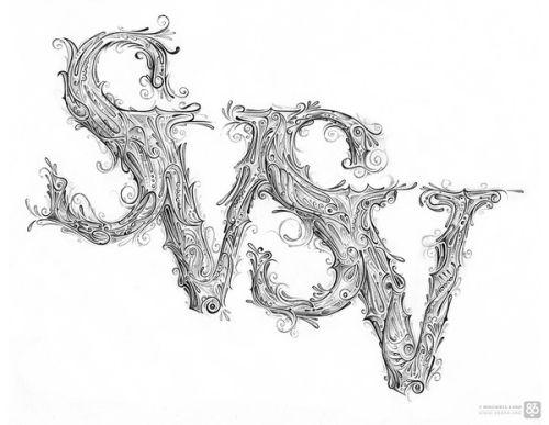 Drawn photos Smashing Typography Examples Hand Drawn