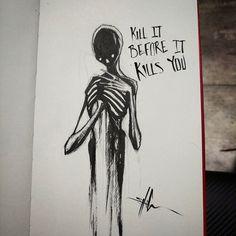 Drawn photos depression Your dangerous sometimes dangerous there's