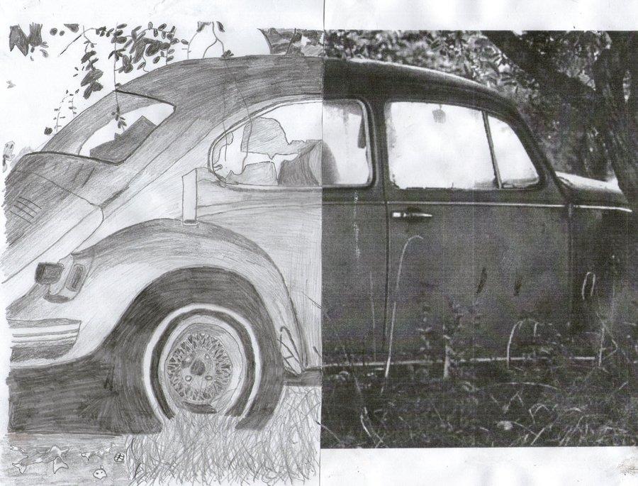 Drawn photos half DonJuanito on Drawn Half Car
