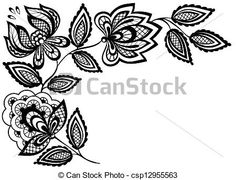 Drawn photos lace flower Drawings drawing lace Illustrations drawings