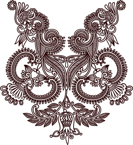 Drawn photos lace flower More images and Vector best