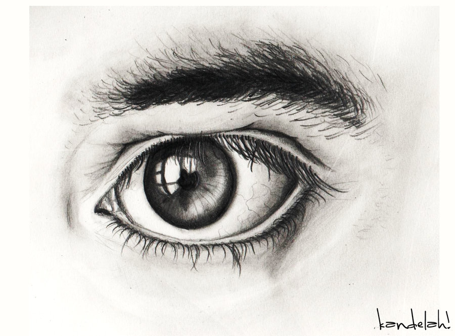Drawn photos male eye Drawing Strong by Drawing Male