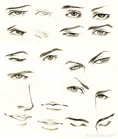 Drawn photos male eye Tutorials Find and eyes Awesome