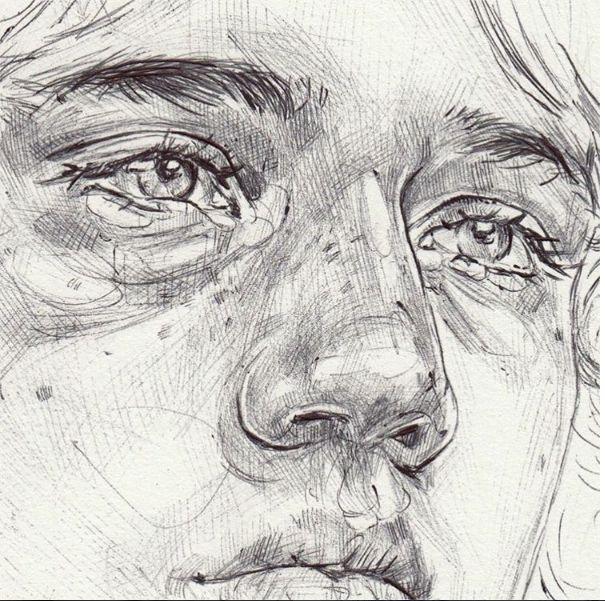 Drawn photos person Http://nevahosking sketch Drawing Pinterest Neva