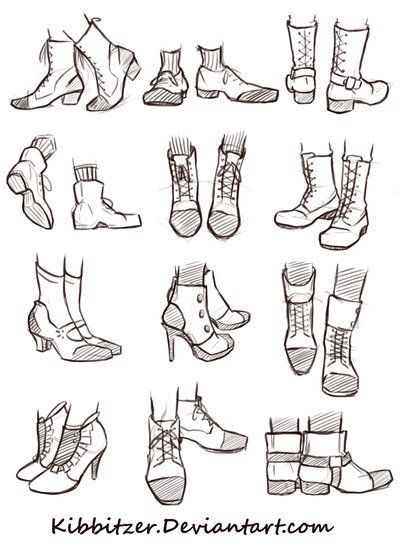 Drawn sneakers reference Reference Shoe  drawing Sheet