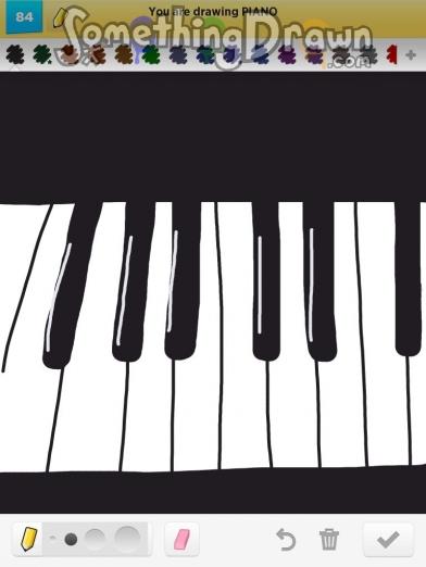 Drawn piano Com jennypah piano Something drawn