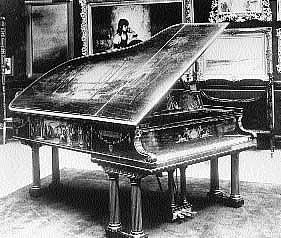 Drawn piano gothic House Gardo Piano The Steinway
