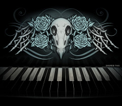 Drawn piano gothic Of productions shaire co… Romance
