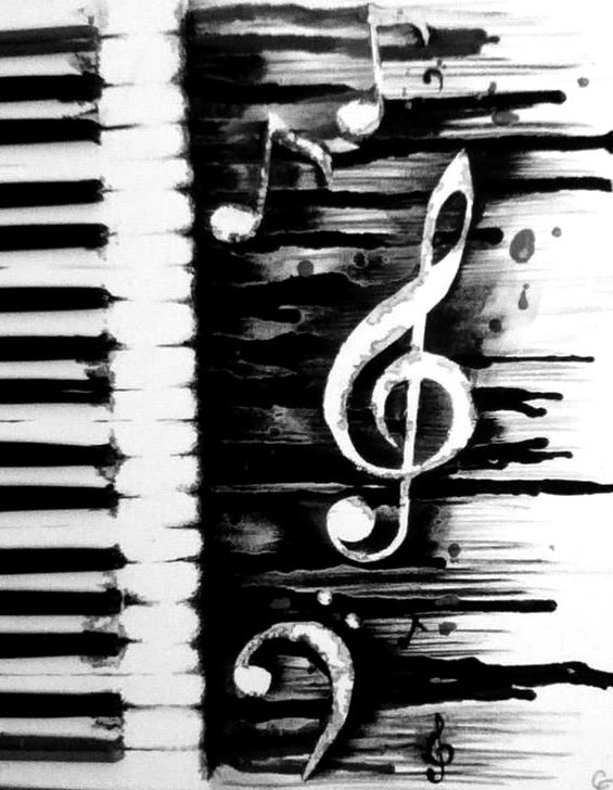 Drawn piano gothic 95 hear to Musical I'd