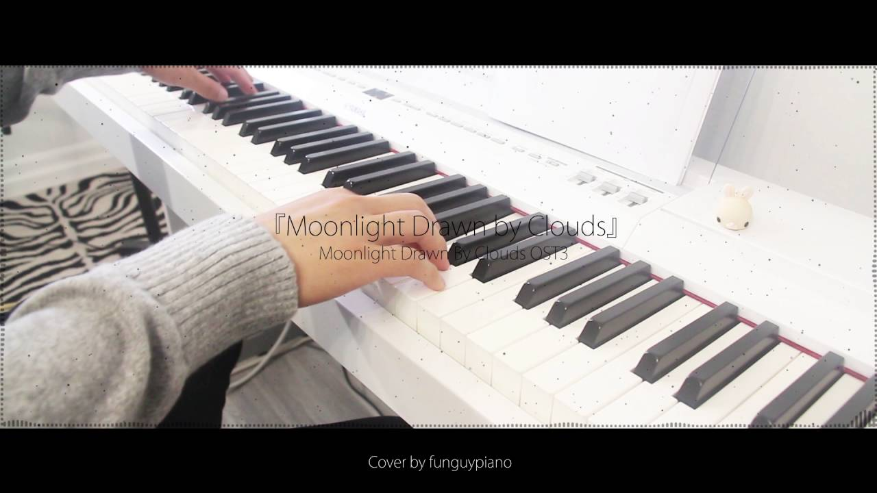 Drawn piano simple By 달빛 Moonlight/ 그린 by