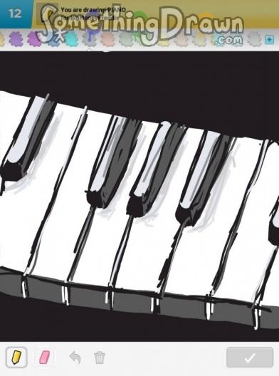 Drawn piano simple Nawree88 Something piano by com