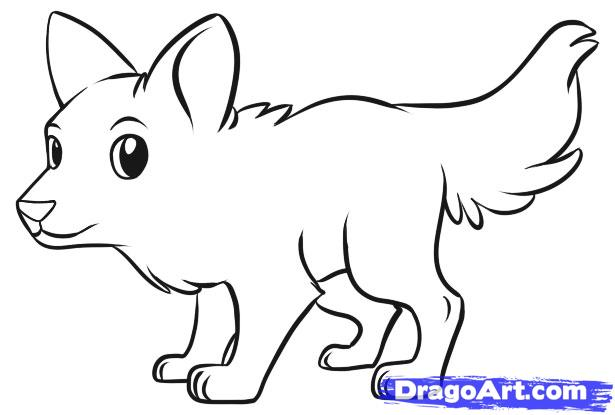 Arctic Wolf clipart simple Wolf photo#1 draw Easy To