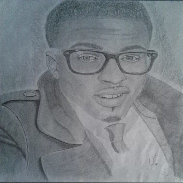 Drawn pice august alsina IMGFLASH Alsina Drawings Drawings 77097