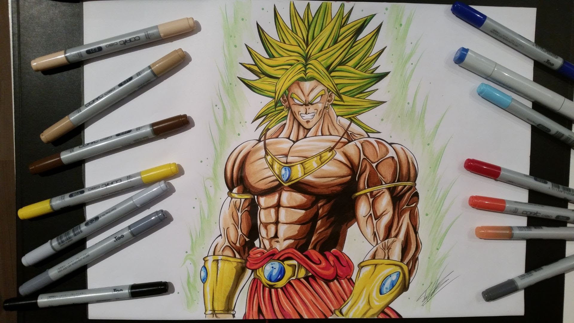 Drawn pice broly ► [Dragon Legendary  Broly