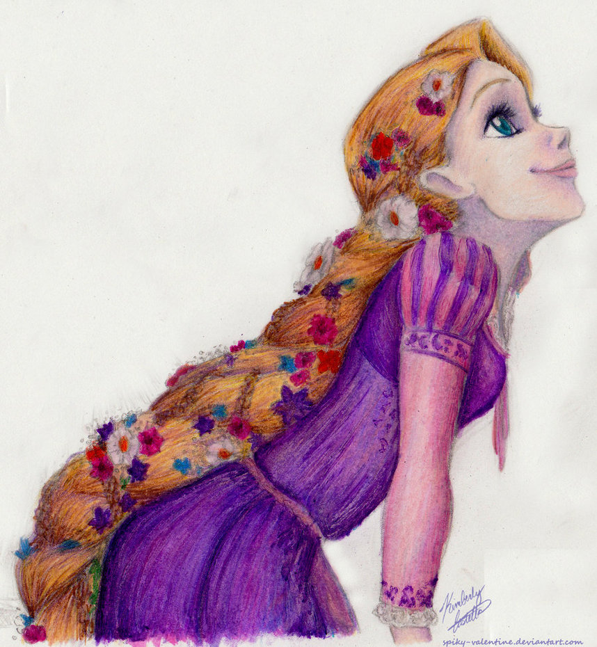 Drawn pice disney princess 1307056288_disney__rapunzel_by_spiky_valentine  jpg (858 Dreamworks