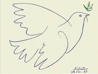Drawn pice dove How Picasso Pablo the a