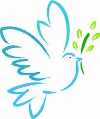 Peace Dove clipart mouth #2
