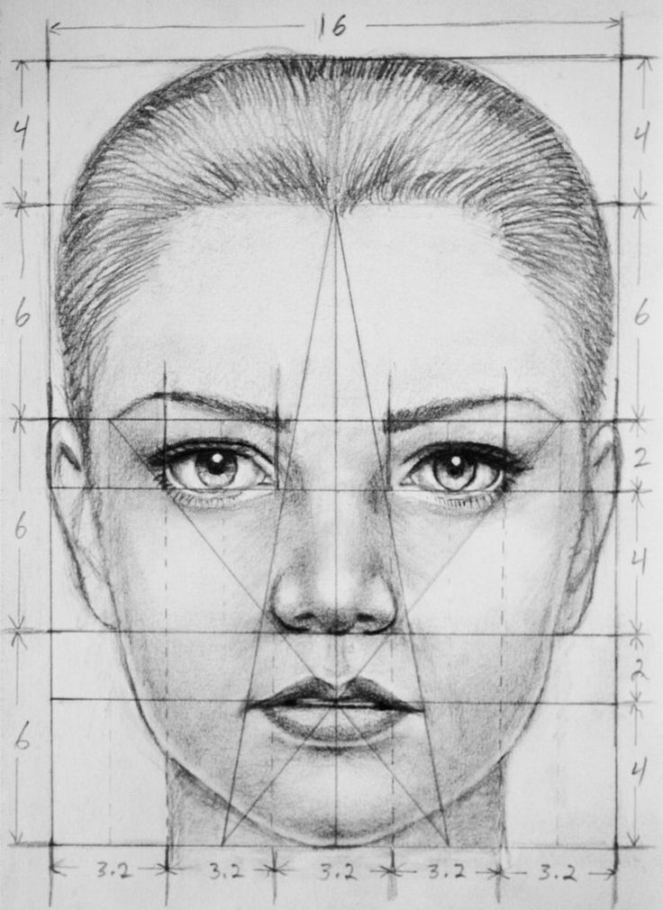 Drawn portrait best face On Drawing Face here ideas