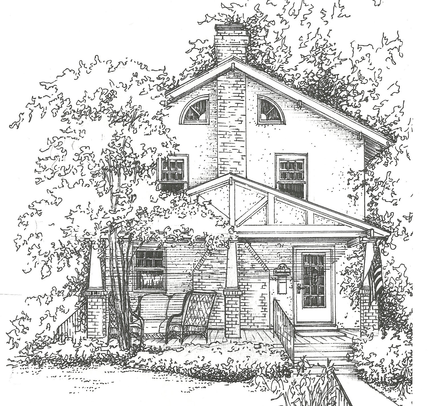 Drawn house hand drawn Of Drawing House your House