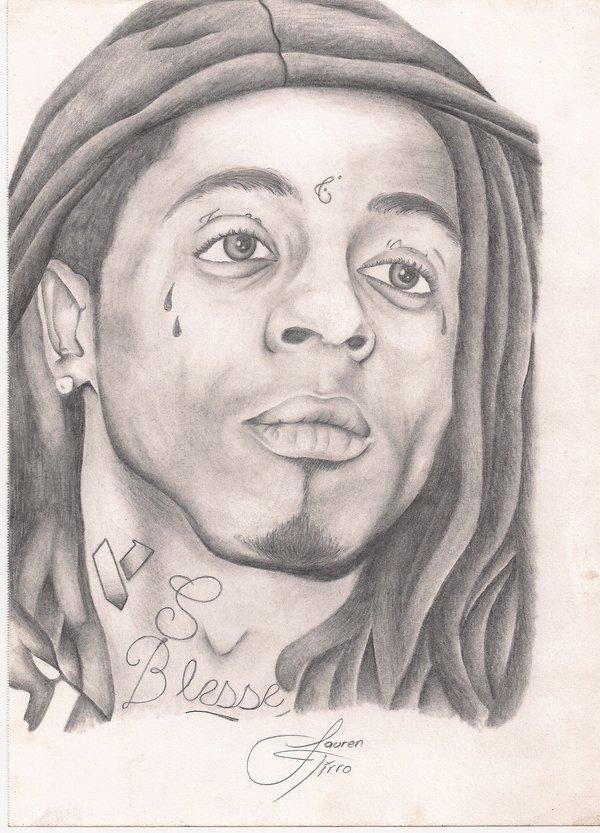 Drawn pice lil wayne By Lil Wayne Wayne LaurenTirroArt
