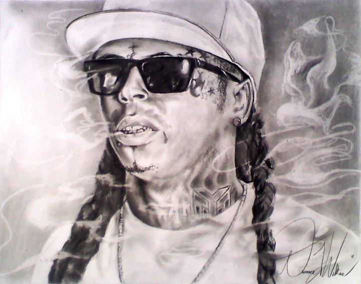 Drawn pice lil wayne By Lil Wayne Wayne DwalkerArt