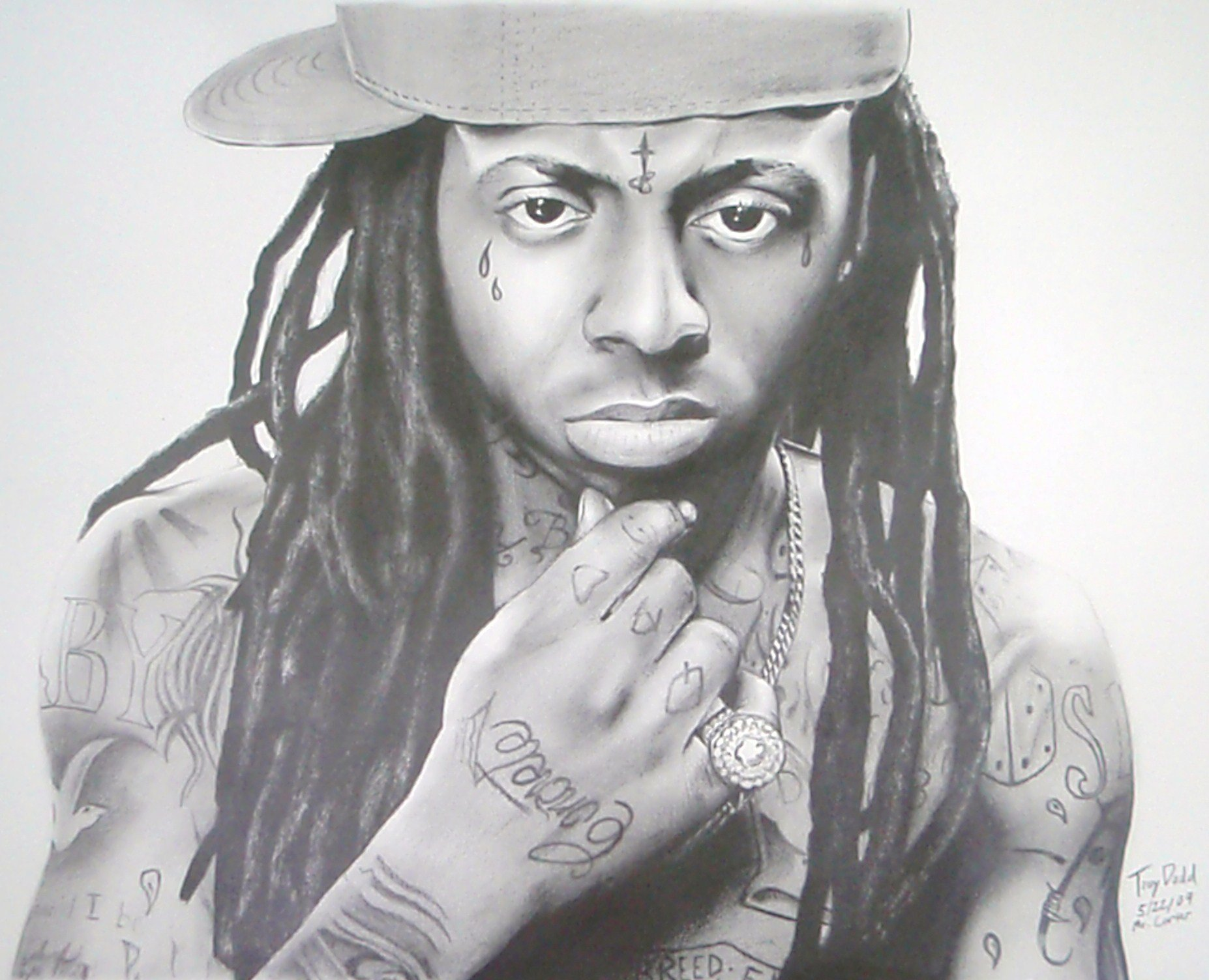 Drawn pice lil wayne Drawing P Wayne Lil In