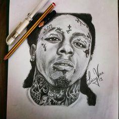 Drawn pice lil wayne Of Wayne by drawing