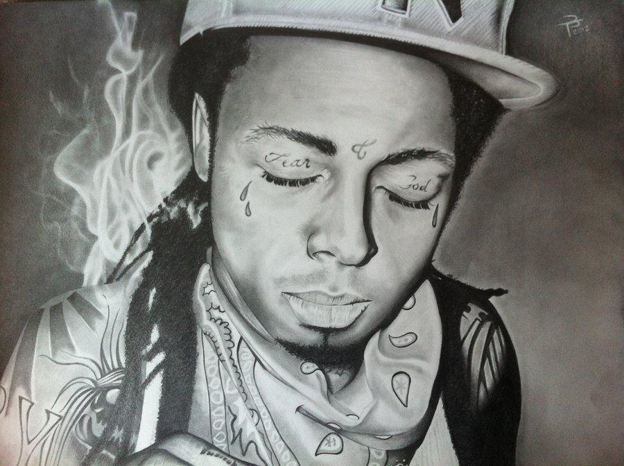 Drawn pice lil wayne Wayne Lil Drawing