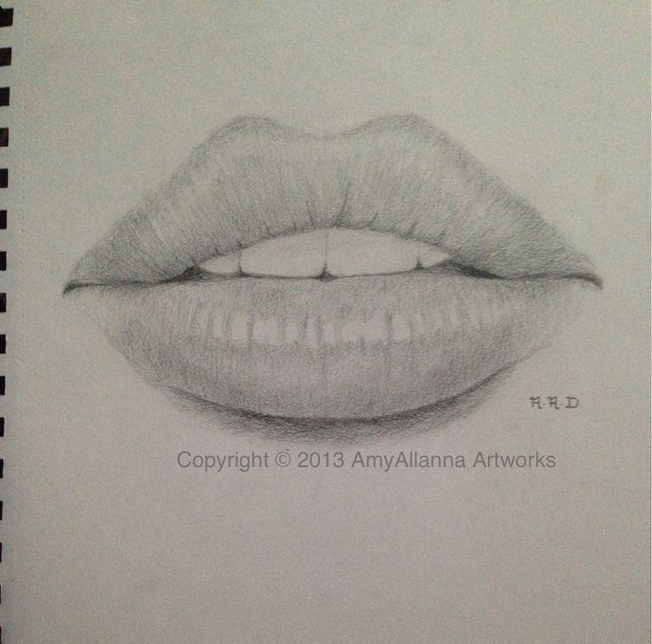 Drawn pice lip By Crilley of Mark on